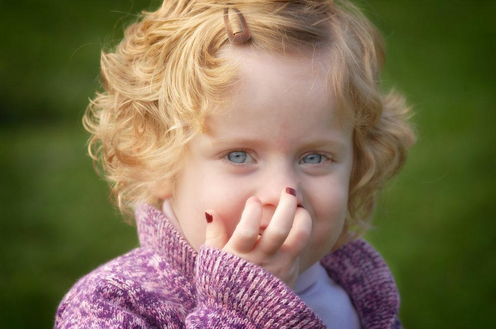 Expressive toddler