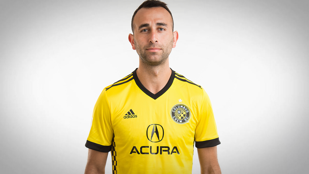 """Hey buddy, my eyes are up here.""  From ColumbusCrewSC.com"