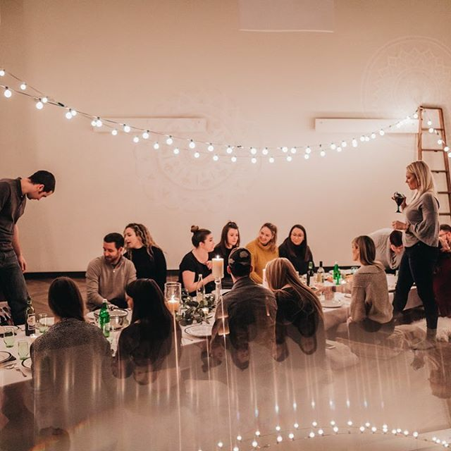 Did you know we host events in downtown CLE? You can rent our space for baby showers, bridal showers and birthdays! Or your networking group or corporate event! Start with a class and then chill in an inviting warm oasis! 💡 DM us for the deets! #yogastrongstudio #downtowncle