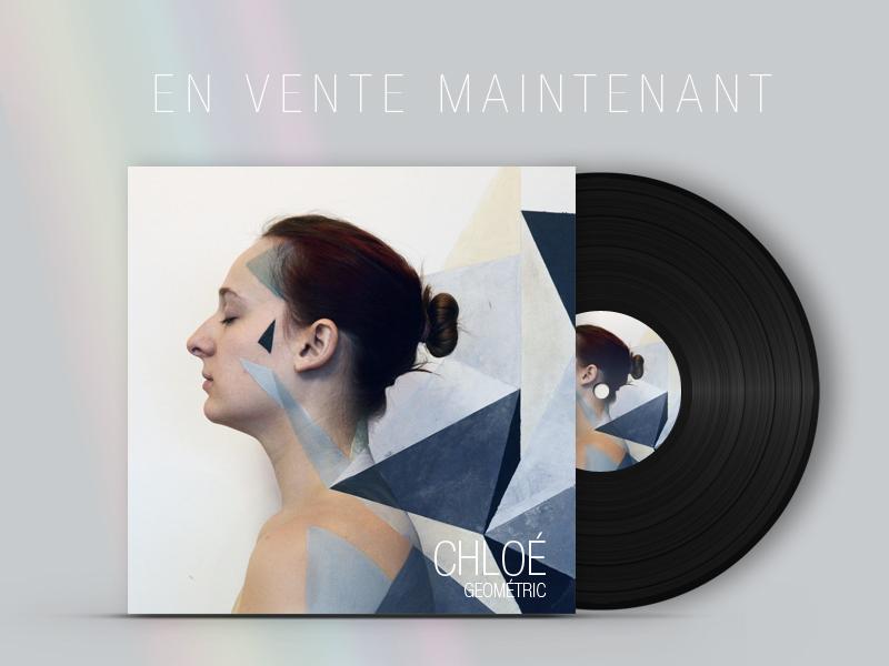 Pochette de Vinyl -Projet scolaire Vinyl cover -School project Illustration & body painting : Ophelie Bergonzat