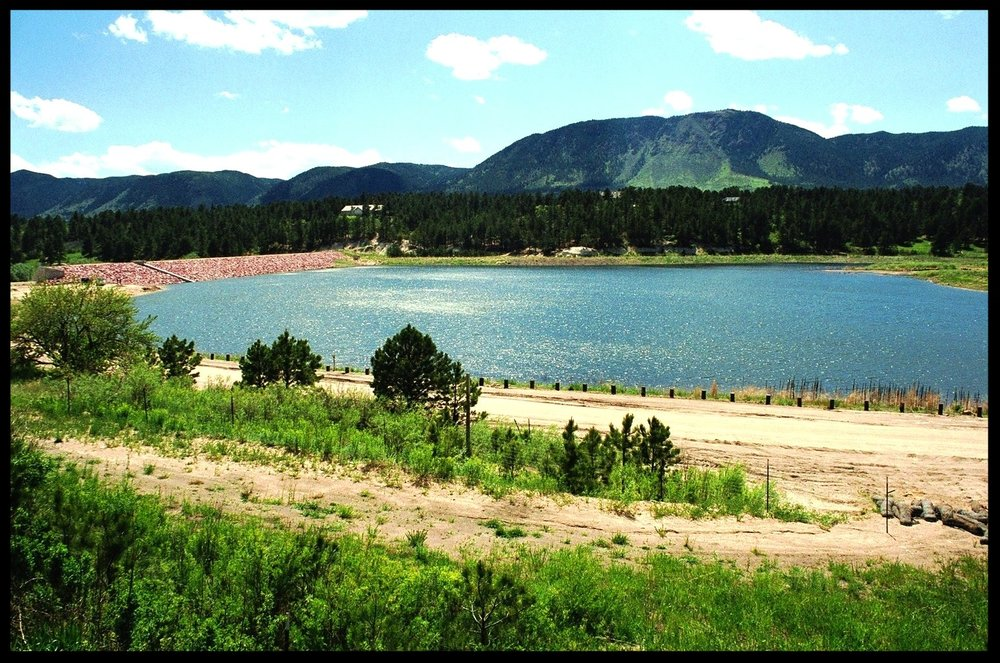 Monument Lake - Water Supply Reservoir, Monument, CO