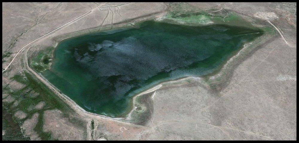 Orlando Reservoir, Huerfano County, Colorado