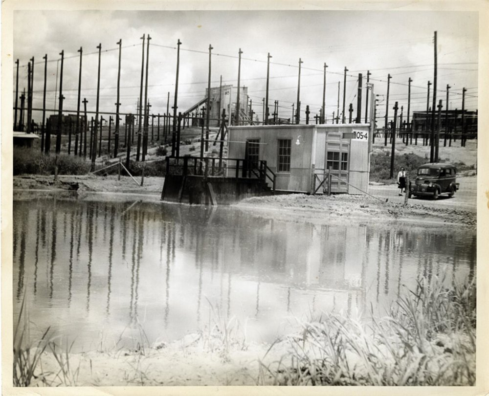 Volunteer Army Ammunition Plant Cooling Pond, TN, circa 1942-1950 (Source: Chattanooga Public Library)