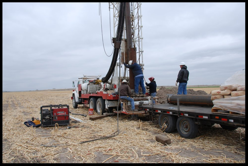 Production well installation