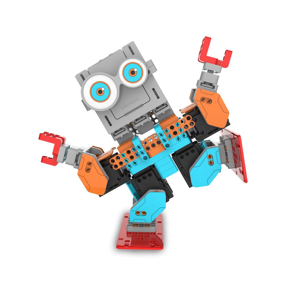 Ubtech Introduces New Line Of Stem Friendly Jimu Robots For Kids Alpha 1s Humanoid Robot Spring