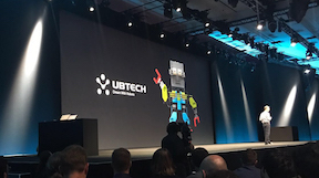 Ubtech's Jimu brand MeeBot shines on stage at WWDC 2017