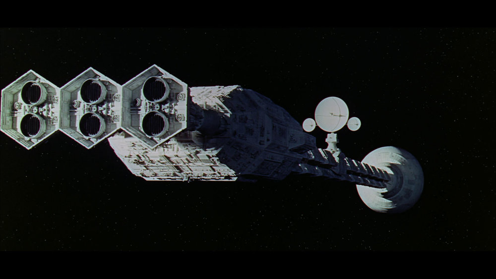 One of the vessels in 2001 A Space Odyssey