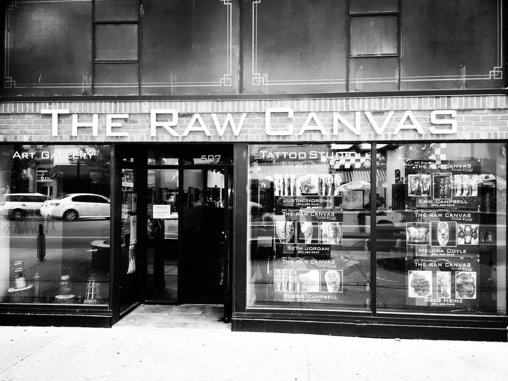 The Raw Canvas . 507 Main Street . Grand Junction . Colorado . 81501 . 970.985.9649 . studiorawcanvas@gmail.com