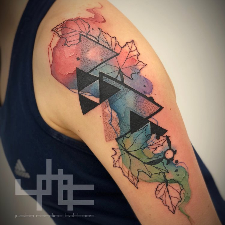 2c83627a6 Justin Nordine, Watercolor Tattoo Artist — The Raw Canvas
