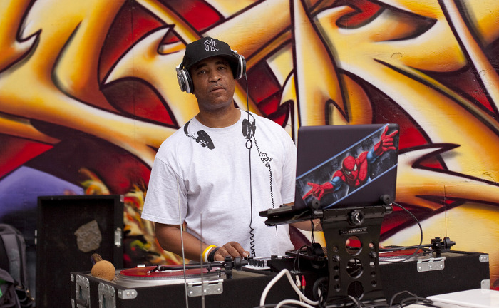 DJ Marley Marl - One of hip hop's first and finest Radio DJs and Super Producers, Marley Marl created many of the sharpest beats and hooks in rap history and continues his industry leadership to the present day.  Famous for representing the rap Mecca Queensbridge and known for introducing hip hop producers to sampling, Marley, born Marlon Williams, appears at the forefront of many of hip hop's most important moments and movements: including rocking alongside Mr. Magic on Rap Attack, co-founding the legendary Juice Crew, battling KRS One and BDP in the infamous Bridge Wars, producing LL Cool J's Mama Said Knock You Out, breaking new talent on Future Flavas, even inspiring the late great Notorious BIG.