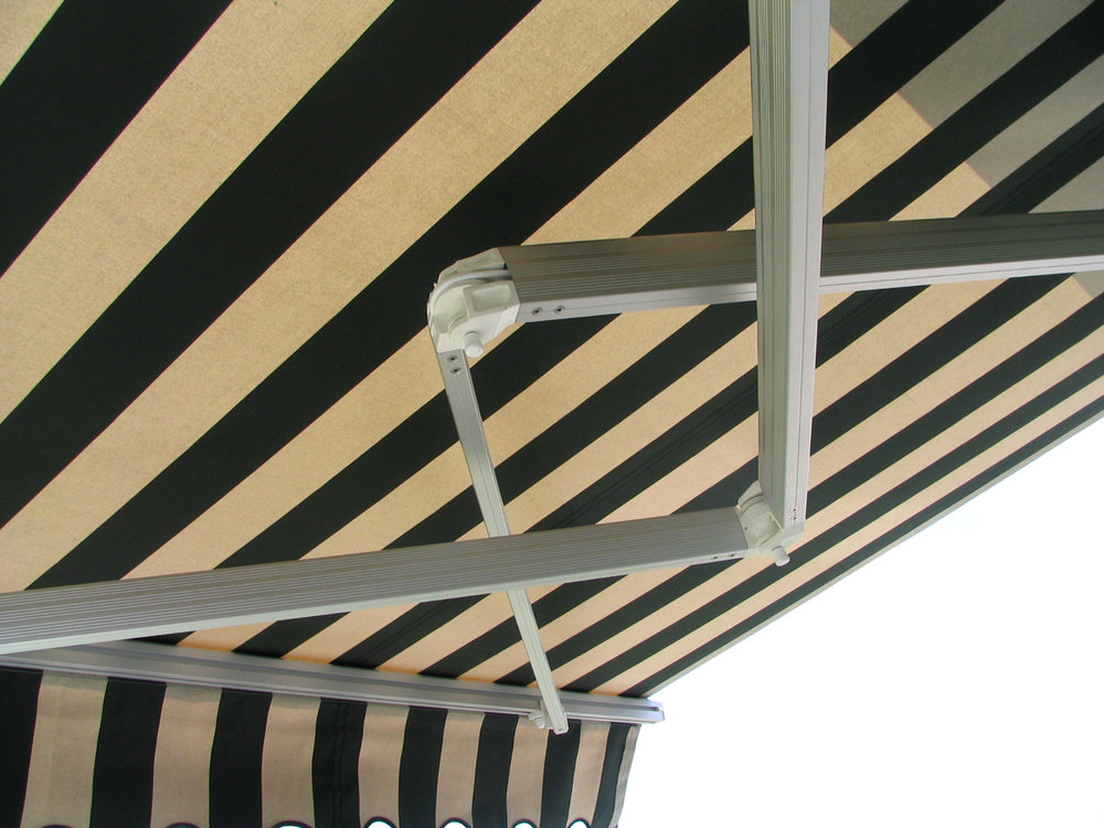 Patio awning 2 crossover