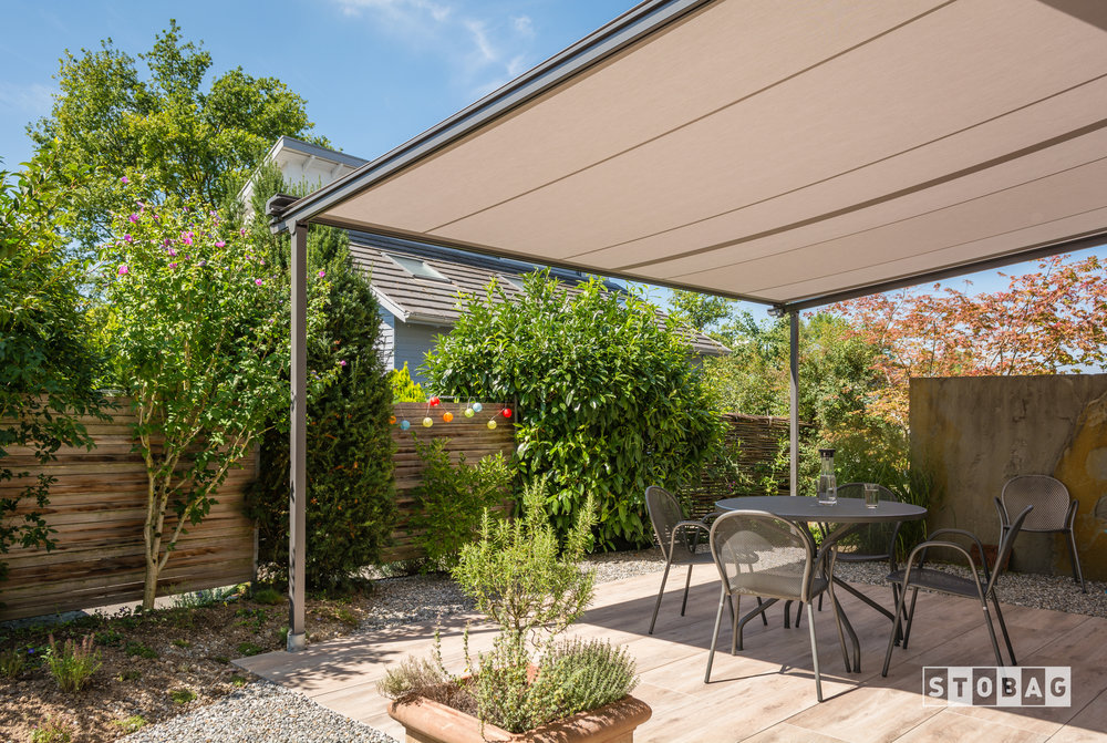 shade awning retractable fos pergola diy