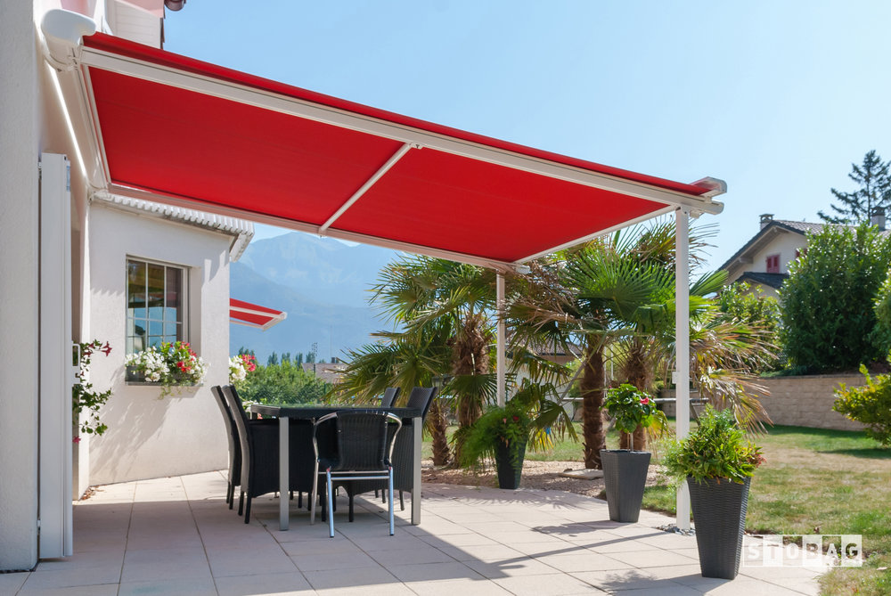 haven outdoor west for pinnacle uv area retractable ct dining pergola protection awning