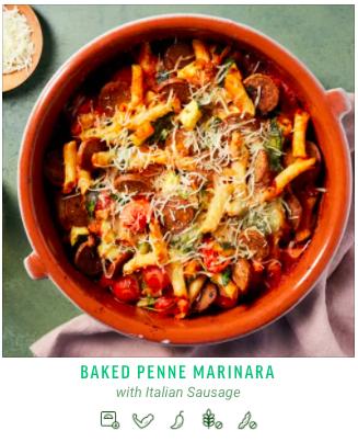 Baked Penne Marinara