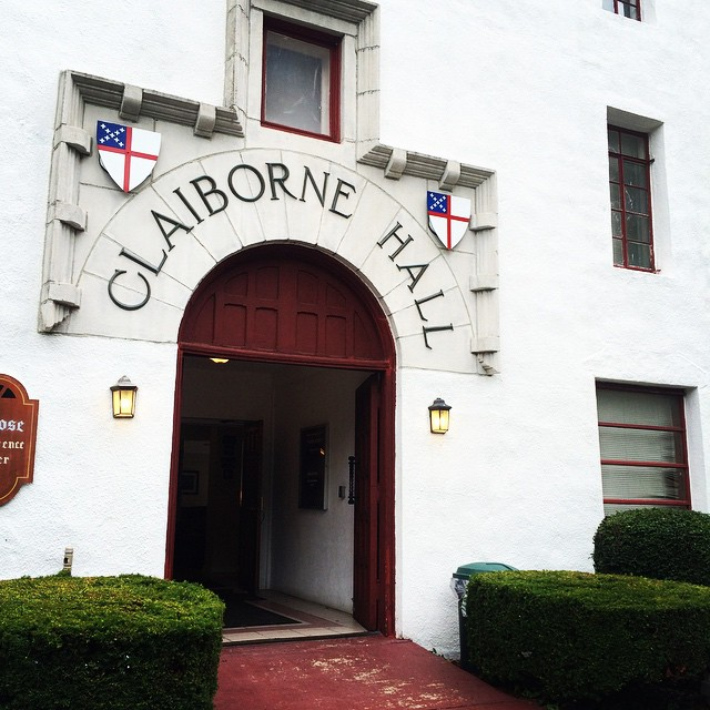 Claiborne Hall Entrance