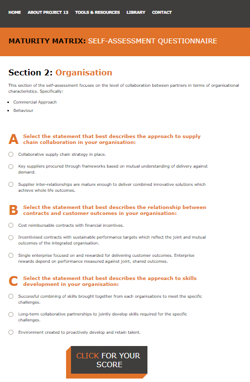Project 13   Institution of Civil Engineers » Self Assessment Questionnaire.png