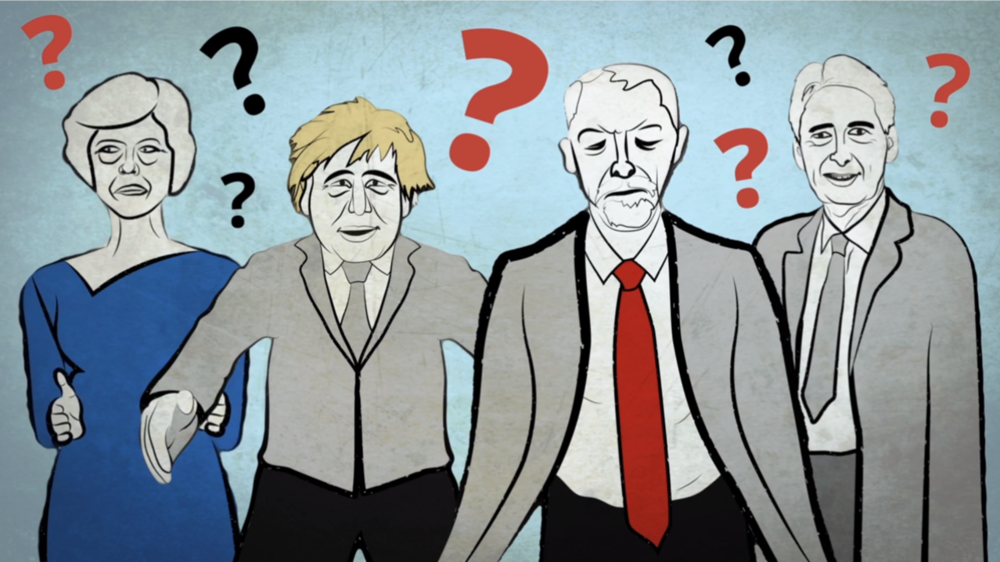 Westminster is in turmoil (This image is from our animation for UK in a Changing Europe)