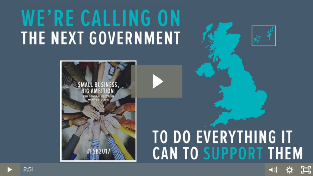 Is it time to start thinking about election manifestos, and manifesto videos (of course)?
