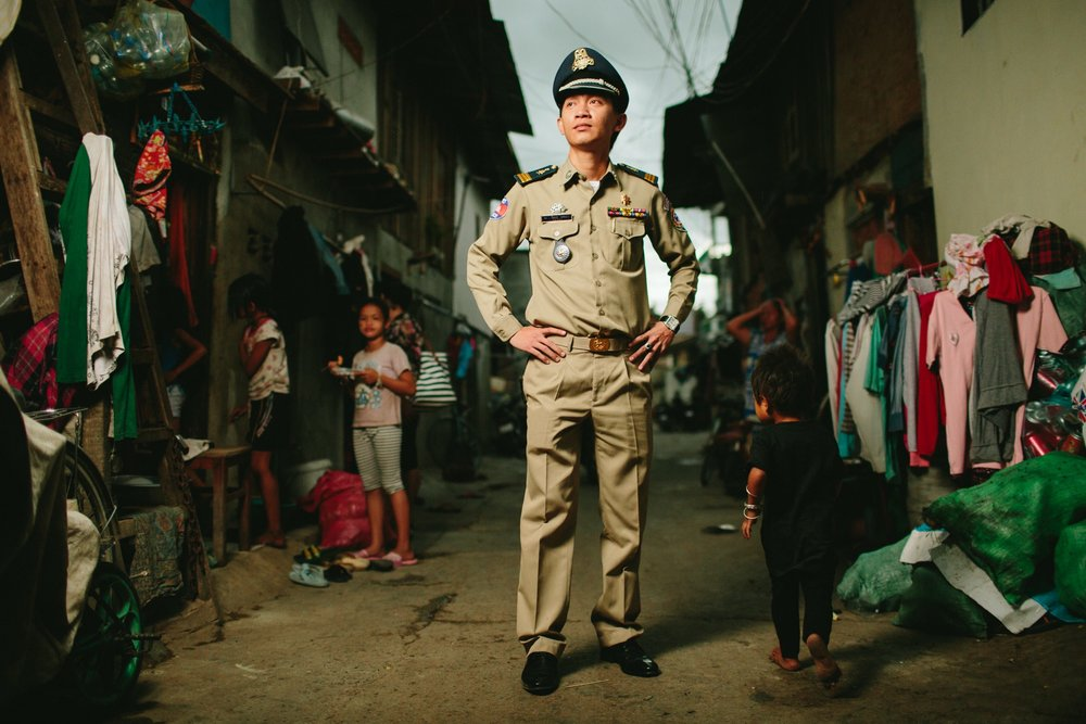 Captain Keo Rattana — Deputy Chief of Section, Phnom Penh Anti-Human Trafficking and Juvenile Protection Police.