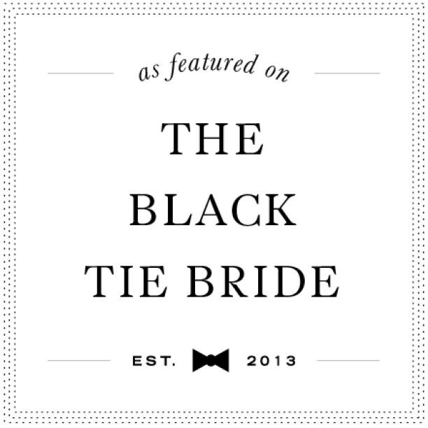 The Black Tie Bride