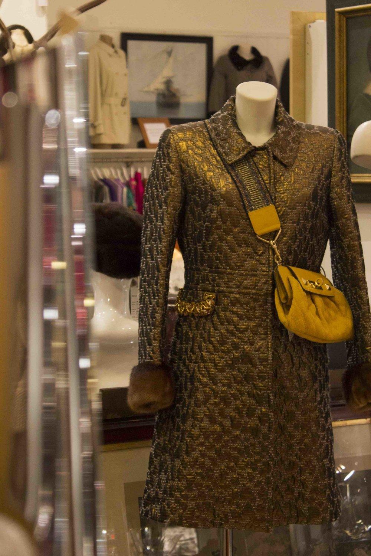 Mink Silk Coat Blumarine 2014