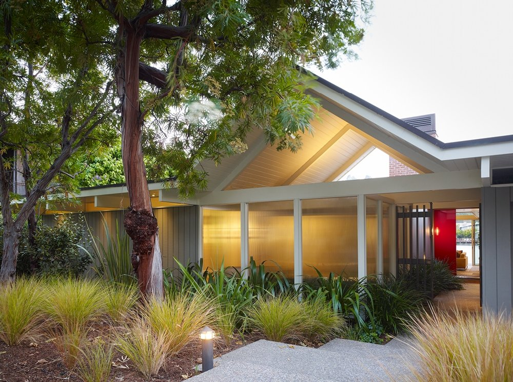 Gary Hutton's Lagoon House: A revitalization of one of the last remaining Eichler houses.  Photo: Matthew Millman