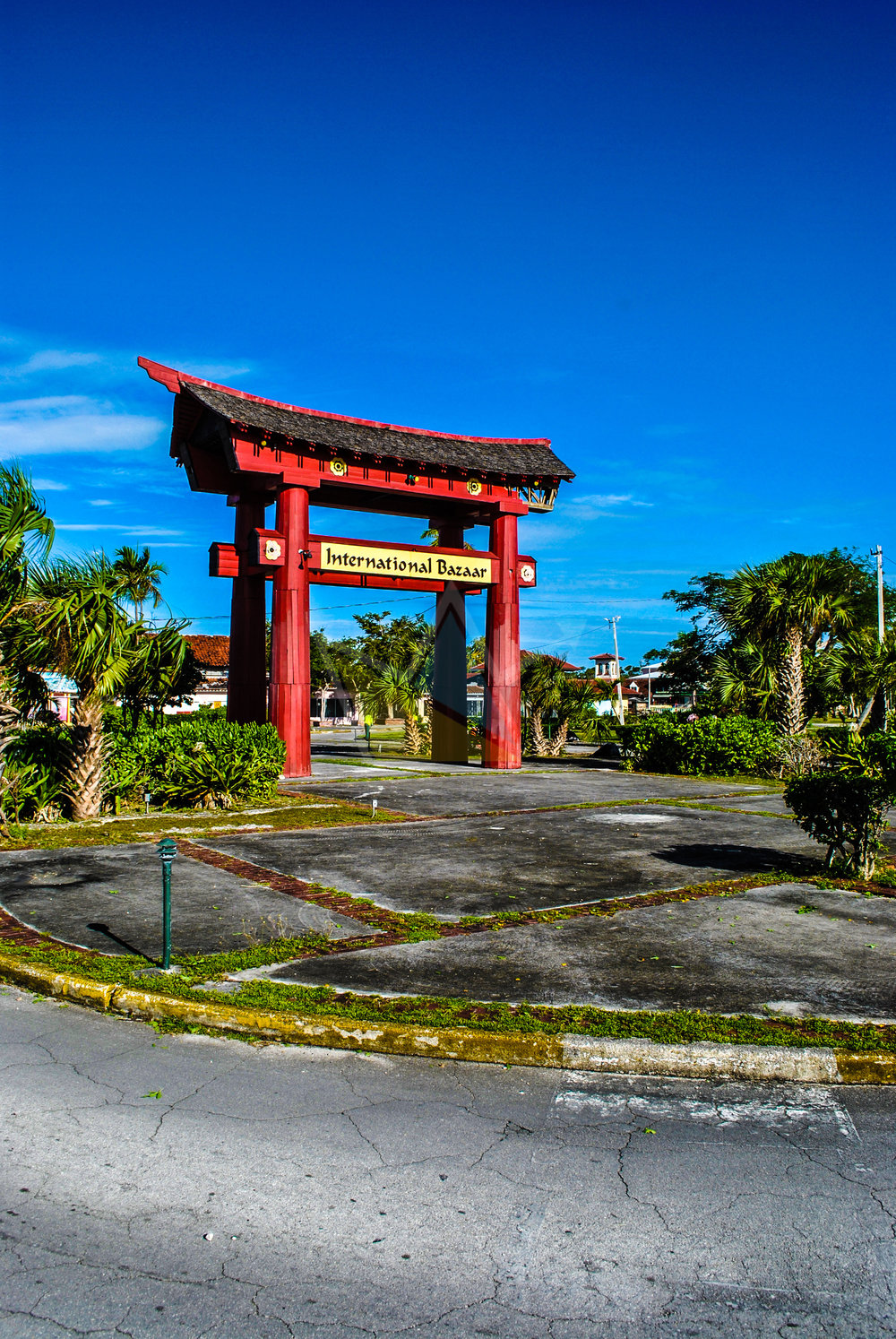 Torii Gate at The International Bazaar