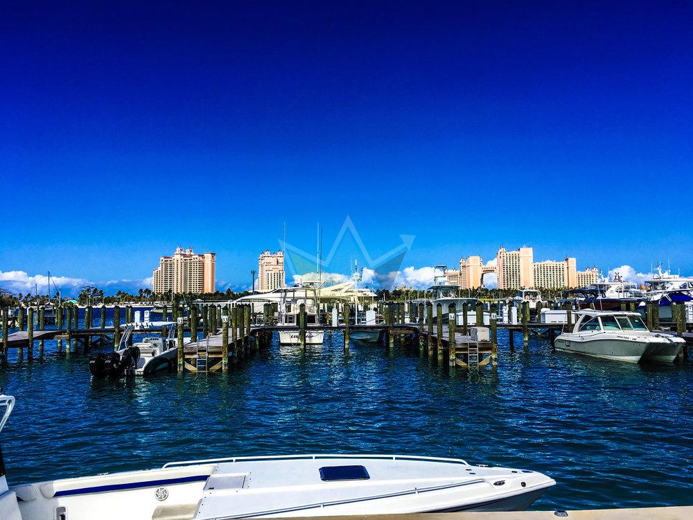 Nassau Harbour with Atlantis Paradise Island in View