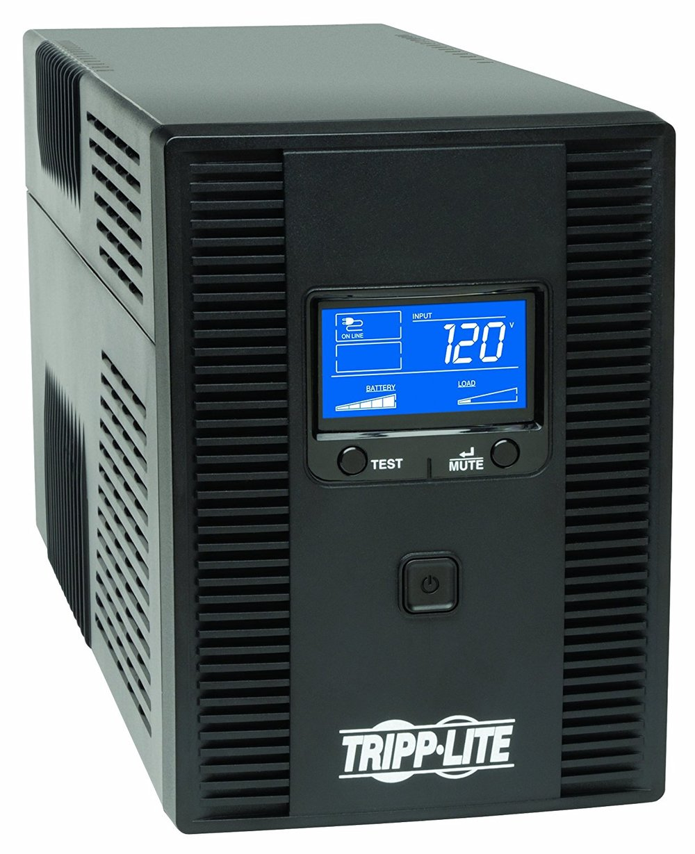 "Tripp Lite 1500VA 900W UPS Battery Back Up    This uninterruptible power supply (UPS) or battery backup protects your sensitive network equipment and/or Mac from power interruptions including ""sagging"" voltage, brown-outs, and power outages."