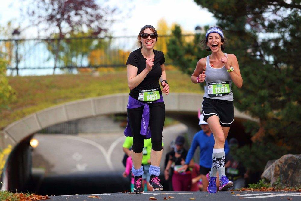 Courses thématiques - Forfait de courses - demi-marathon de Longueuil