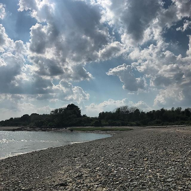 Took the ferry out to Grape Island today for a few nights of camping on @bostonharborislands. Such a fun experience so far! Follow along on insta stories.