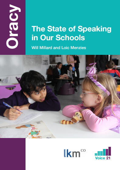 Excellent insight into oracy in our education system. From Lkmco and Voice21