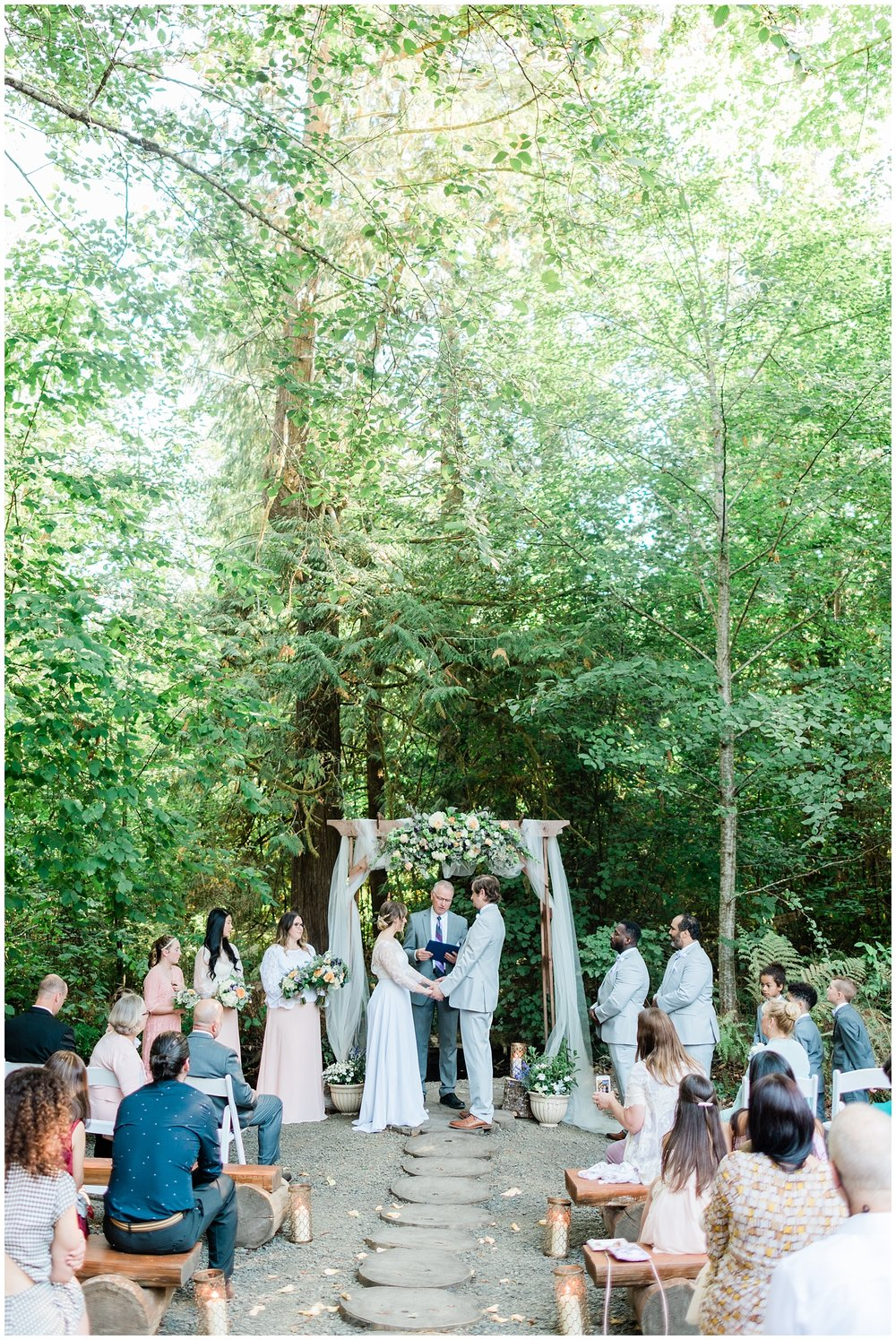 Enchanting Forest Wedding | Janet Lin Photography