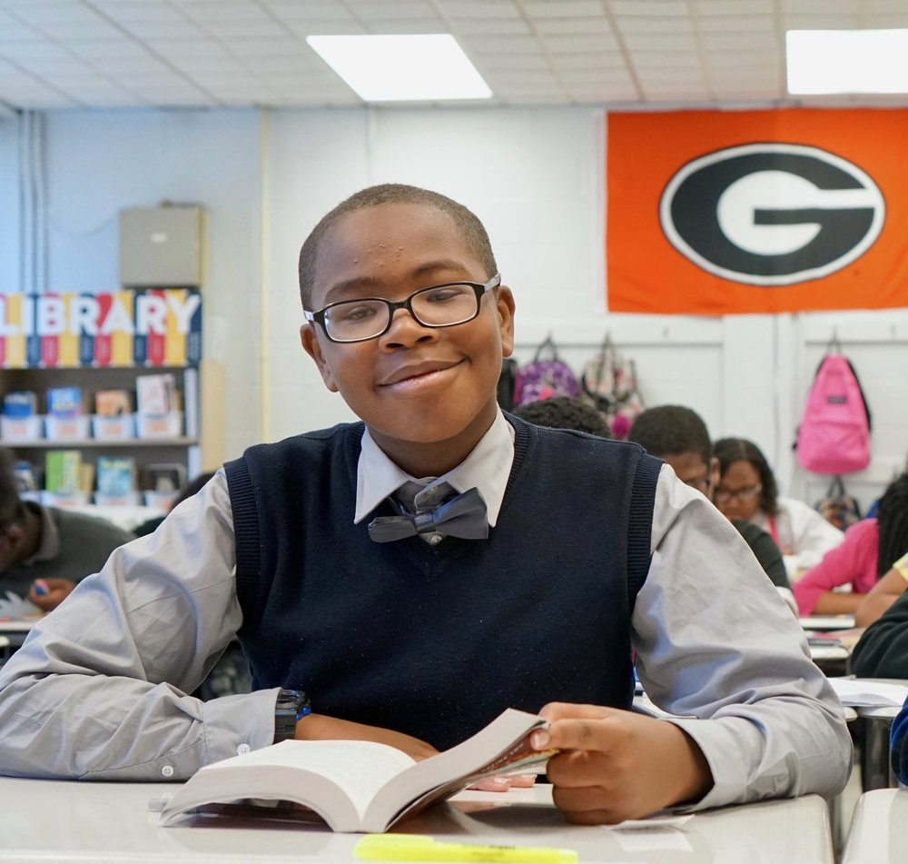 Meet Edward, current Reimagine Prep scholar and your future President.