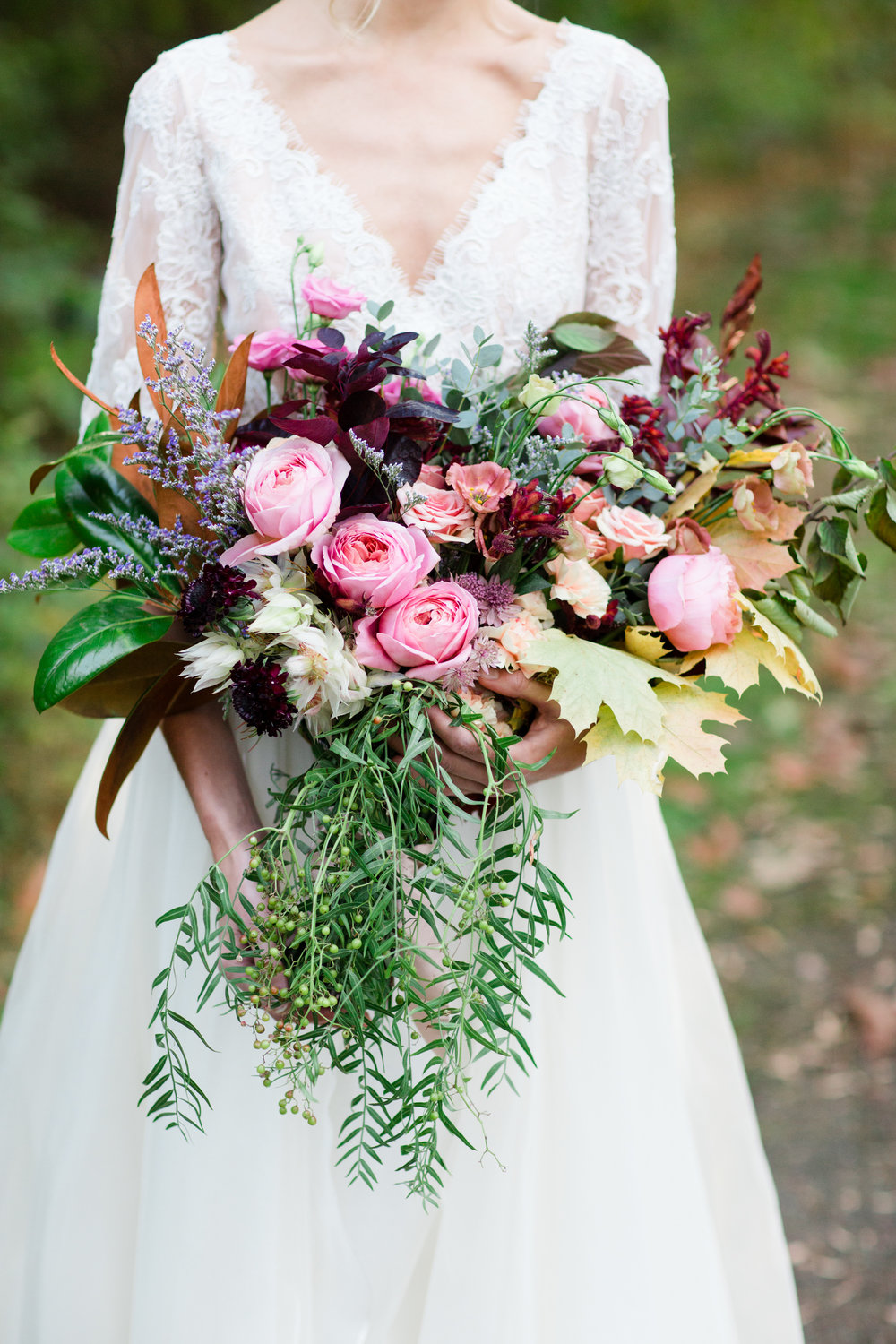Wedding Bouquet by TEXTURE Florals | Photo: Asya Photography