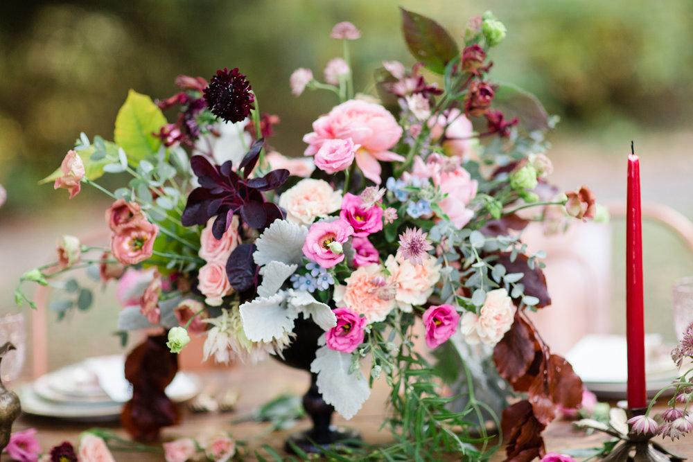 Centerpiece by TEXTURE Florals | Photo: Asya Photography