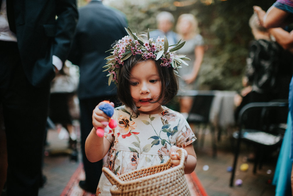 Flower Girl by TEXTURE Florals | Photo: Pat Robinson