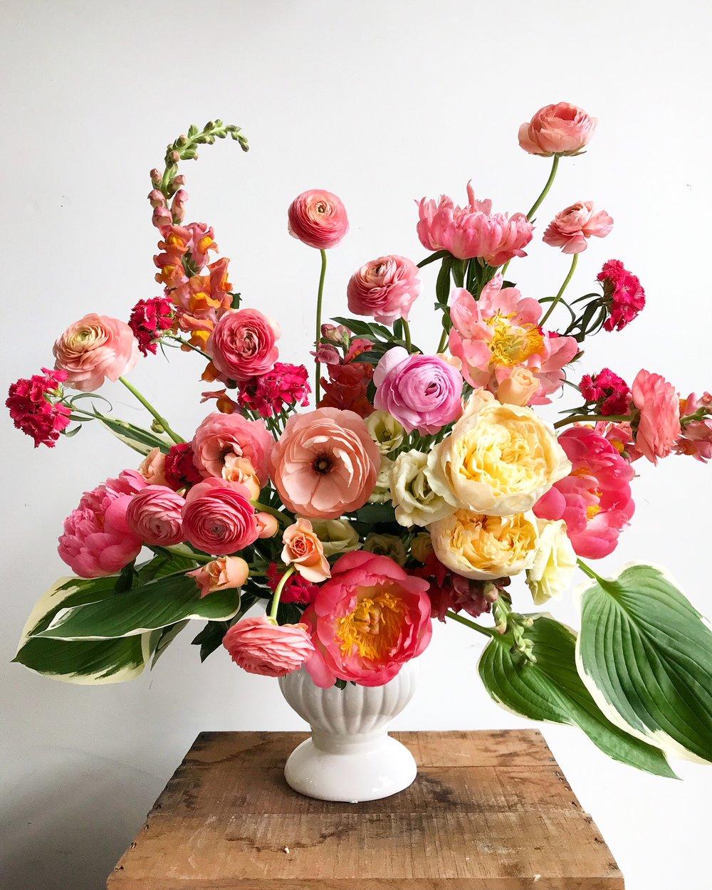 Texture Florals Spring Wedding Large Centerpiece_Philadelphia
