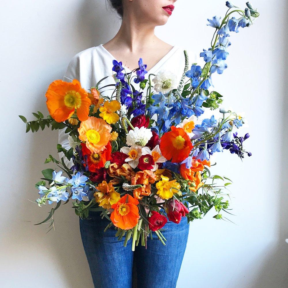Texture Florals Spring Wedding Bridal Bouquet_Philadelphia