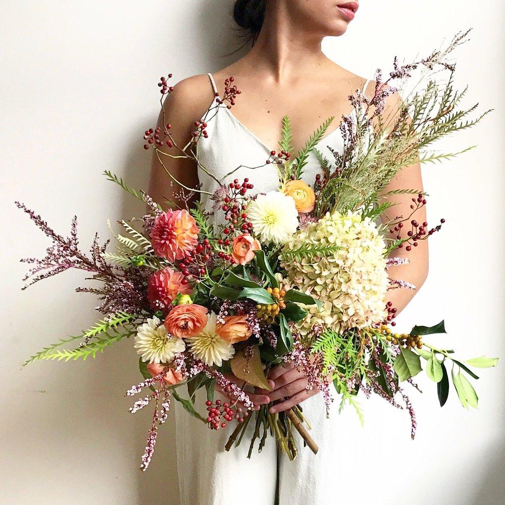 Texture Florals Autumn Wedding Bridal Bouquet_The Rittenhouse Hotel_Philadelphia
