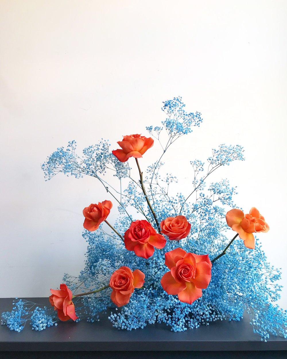 Texture Florals Summer Event Centerpiece_Philadelphia