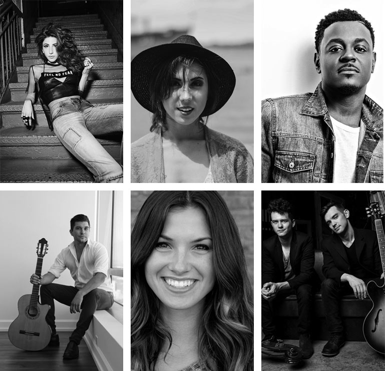 Our band members are recognized for their work on shows like American Idol & The Voice. -