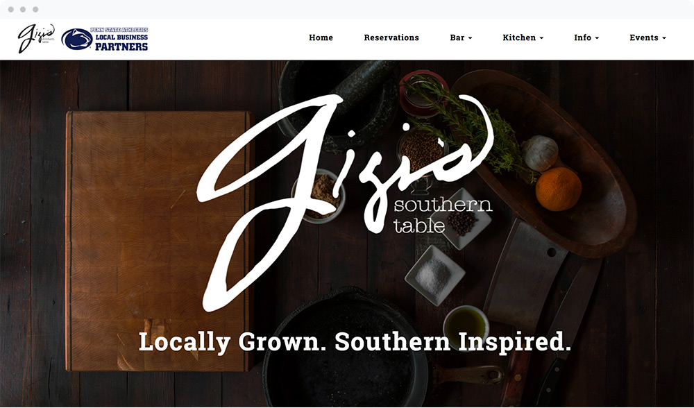 Gigi's Southern Table (State College, PA) - Visit Website
