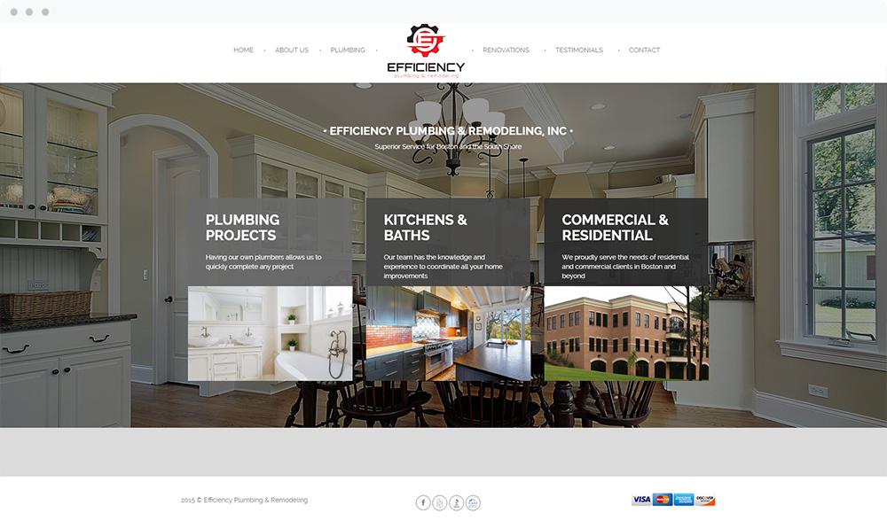 Efficiency Plumbing & Remodeling (Quincy, MA) -  Visit Website