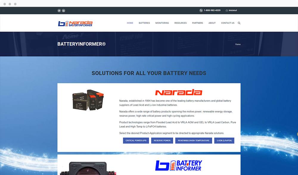 Battery Informer (Newton, MA) -  View Website
