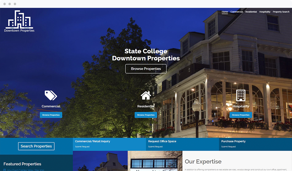 State College Downtown Properties (State College, PA) -  View Website