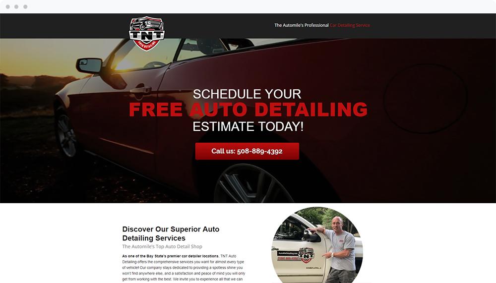 TNT Auto Detailing -  Visit Landing Page