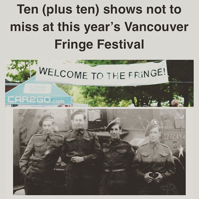 Pretty excited to have ended up on this list. Thanks to #vancouverpresents for putting us their list of 10 (plus 10) shows to see at the #vancouverfringe . Get your tickets #yvr BUT FIRST! We open tonight at the #edmontonfringe at 830pm at Venue 5 (King Edward School). There are still a few tickets left so don't delay! #fringe #yegarts #yeg #yegfringe #yegsummer #yegtheatre #oldstrathcona #explorealberta #exploreedmonton #yvrarts #yvrfringe #canadian #canada150 #canada #vancouver (https://www.vancouverpresents.com/2017-vancouver-fringe/shows-not-miss-2017-vancouver-fringe-festival/amp/)