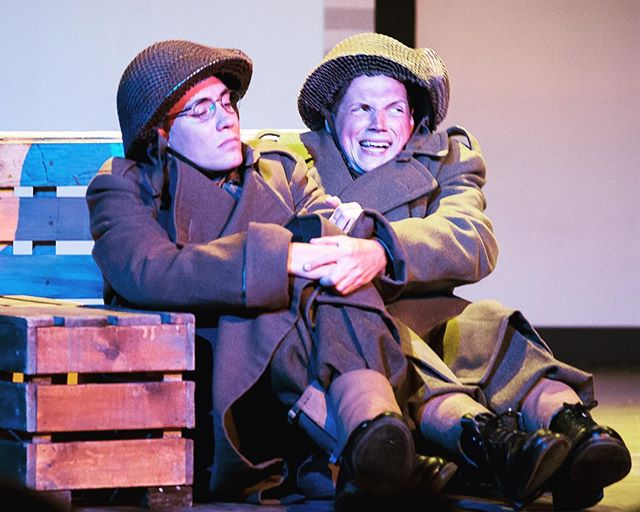"When it's 10 days until rehearsals start — and you remember how much you still have to do. ""A Soldier's War"" is coming back folks for a limited run. Link in bio — to purchase tickets. #saskatoon #saskatchewan #canada #wwii #canadiantheatre"