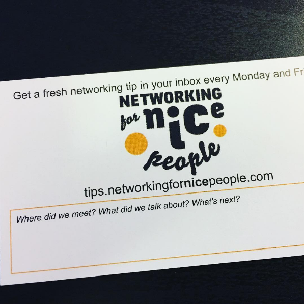 New Business Networking cover image